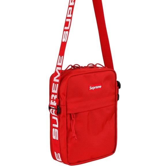 Supreme Shoulder Bag (Red) 1233f13984abd